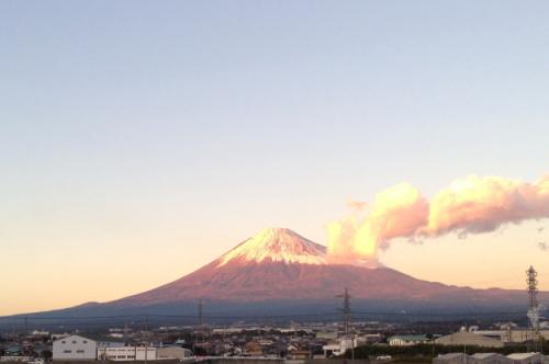 富士山の写真を募集しています。