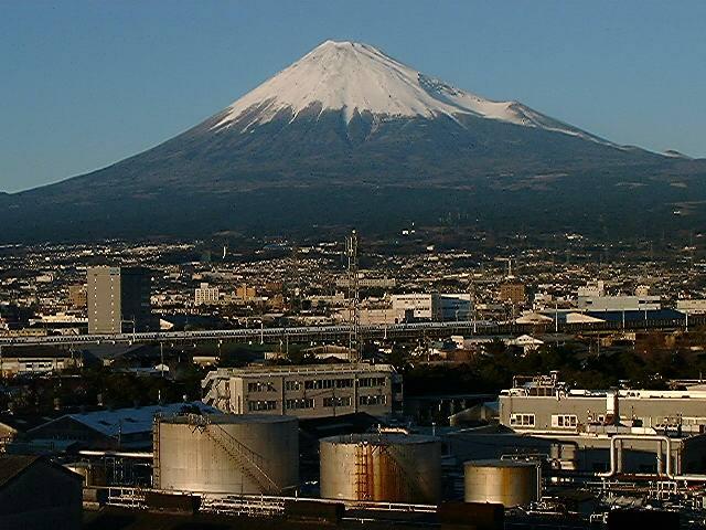 旭化成からの富士山